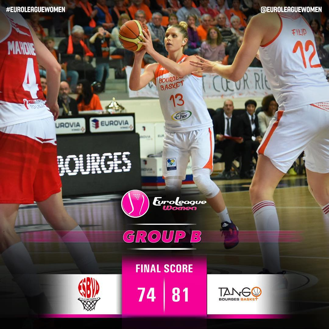 And the French derby is won by Bourges Basket once again.⠀ #EuroLeagueWomen Grou…