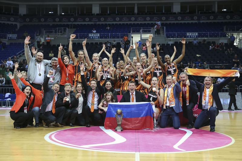 UMMC Ekaterinburg Wins 2016 Euroleague Championship