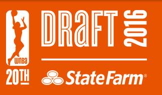 WNBA 2016 Draft Results