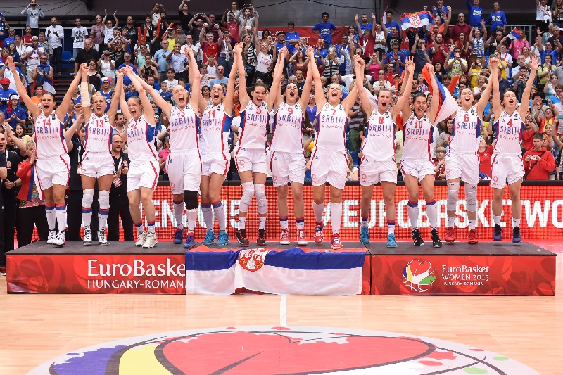 Serbia Wins First Eurobasket Title Over France 76-68