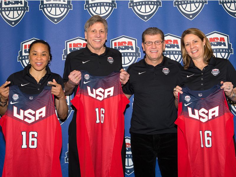 US Basketball 2016 Rio Olympics Coaches Announced