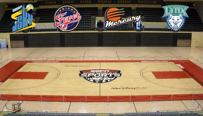 WNBA Preseason Tournament at Disney Sports Complex